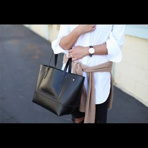 J Crew Uptown Leather Tote